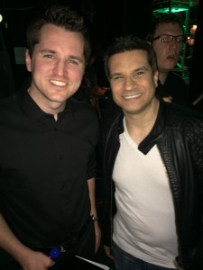 Dan Hulsman, Video Game Music Academy (left) with Tommy Tallarico, Video Games Live (right)